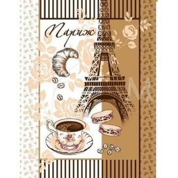 """Набор вафельных полотенец """"Париж"""""""