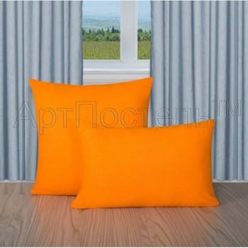 Махровая простыня на резинке Апельсин