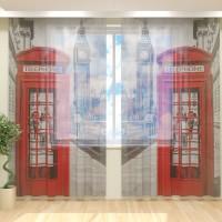 Фототюль Лондон Телефон