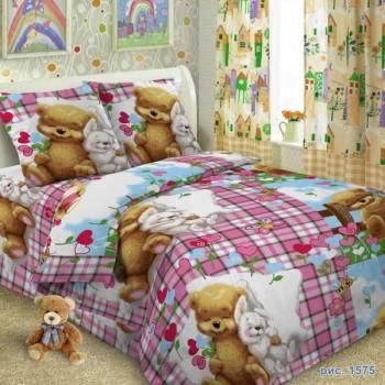 КПБ в детскую кроватку 1575 Друзья