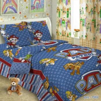 КПБ в детскую кроватку 1582 Щенячий патруль