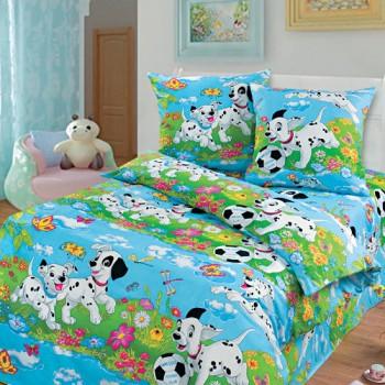 КПБ в детскую кроватку Далматинцы