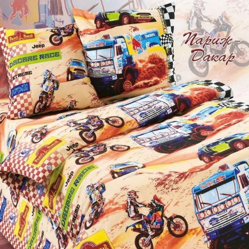 КПБ Париж-Дакар, ткань поплин купить недорого в интернет ...: http://sweet-dream.kz/tekstil-dlja-detej/paris%20dakar.html