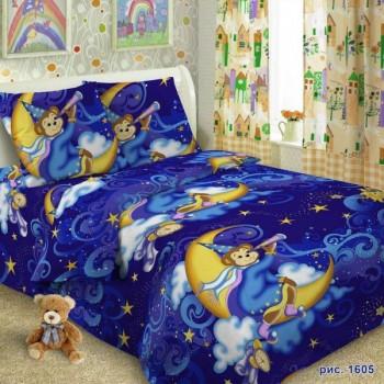 КПБ в детскую кроватку 1605 Звездочет