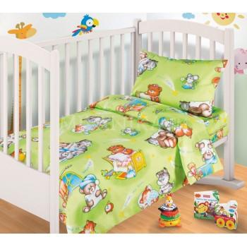 КПБ в детскую кроватку Спокойной ночи