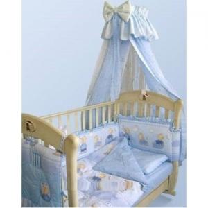 Уютный балдахин для детской кроватки